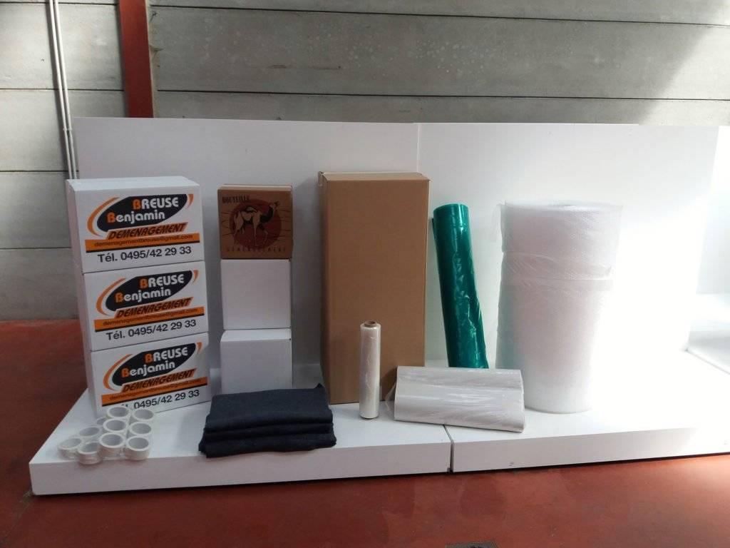 Fournitures d'emballage - Déménagement Breuse